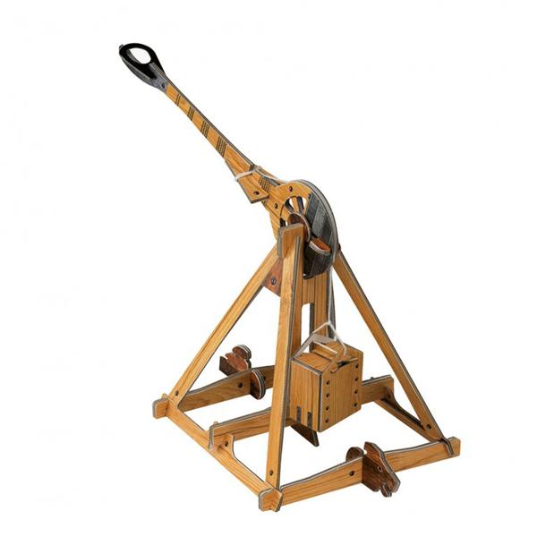 Les machines de Léonard de Vinci - La catapulte et l