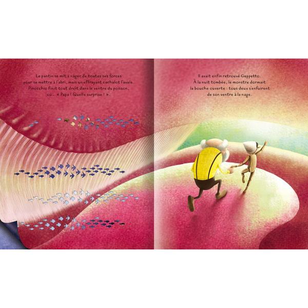 Livre Pinocchio - Découpes lasers
