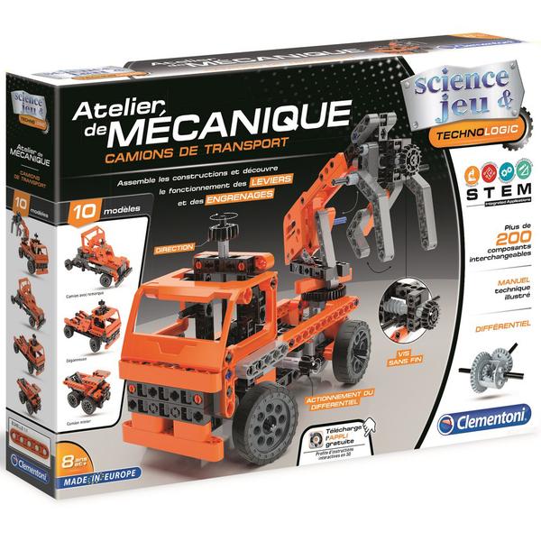Atelier de mécanique-Camions de transport