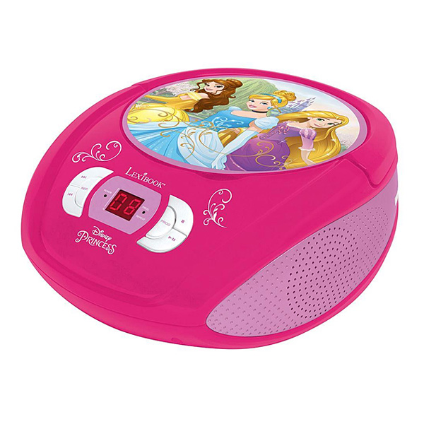 Lecteur CD radio Disney Princesses
