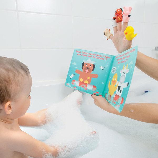 Livre de bain et ses Puppets