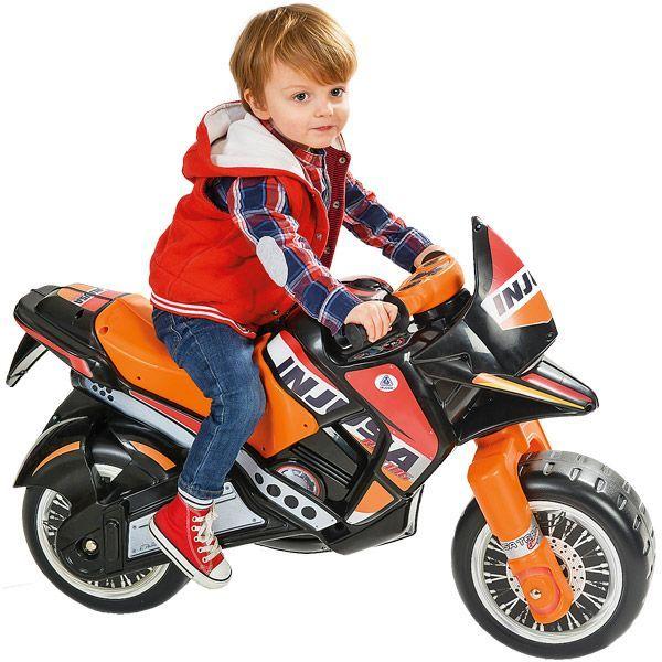 Porteur moto Hawk Injusa : King Jouet, Porteurs