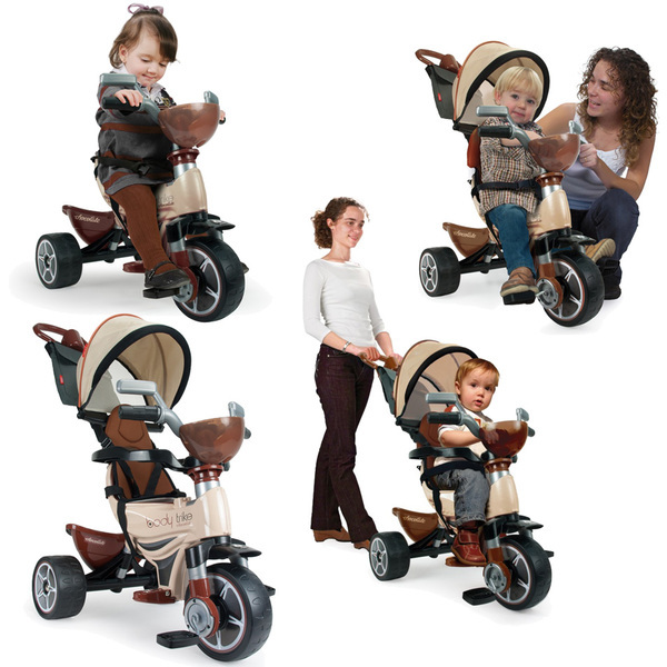 Tricycle évolutif Body Max chocolat