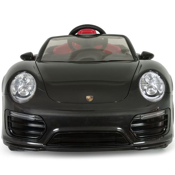 voiture lectrique porsche 911 turbo s 12v imove noire. Black Bedroom Furniture Sets. Home Design Ideas