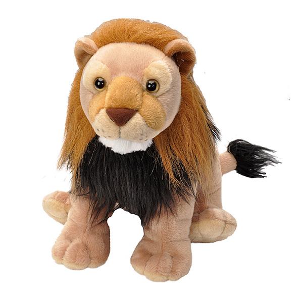 Peluche lion 30 cm