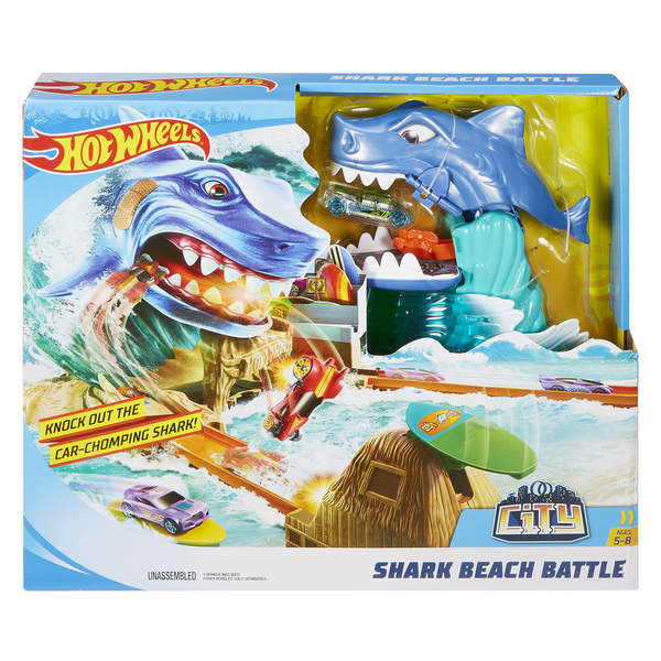 Hot Wheels-Attaque du requin