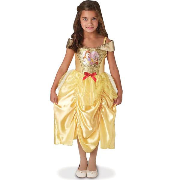 Déguisement sequin Disney Belle 7/8 ans