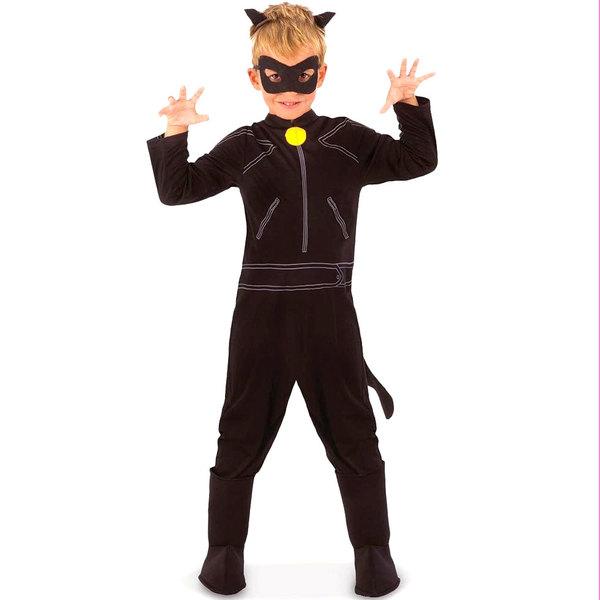 Déguisement classique Chat Noir 5/6 ans Miraculous
