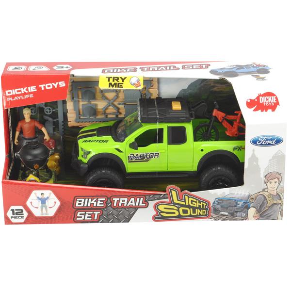 Coffret véhicule ford raptor et vtt