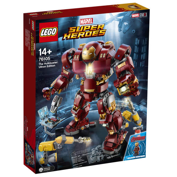 Ultron 76105 Hulkbuster Edition Lego® Super Le eH29YIWED