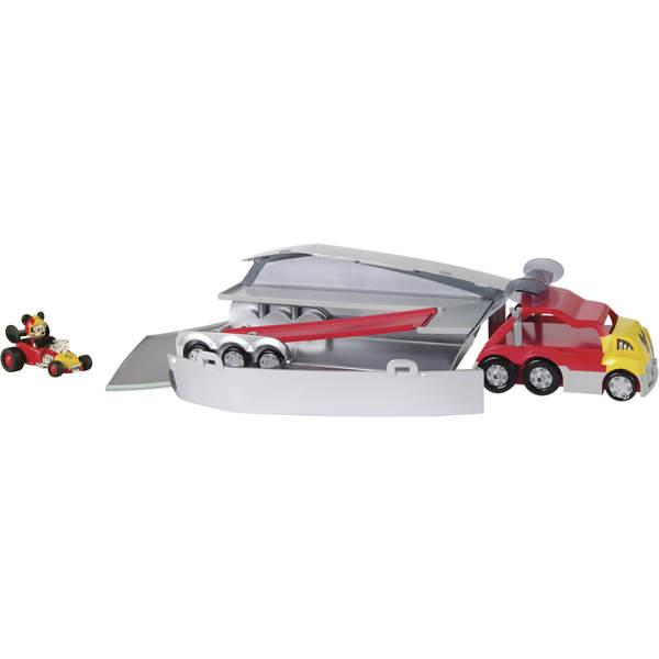 Mickey et ses amis top départ-Camion transporteur