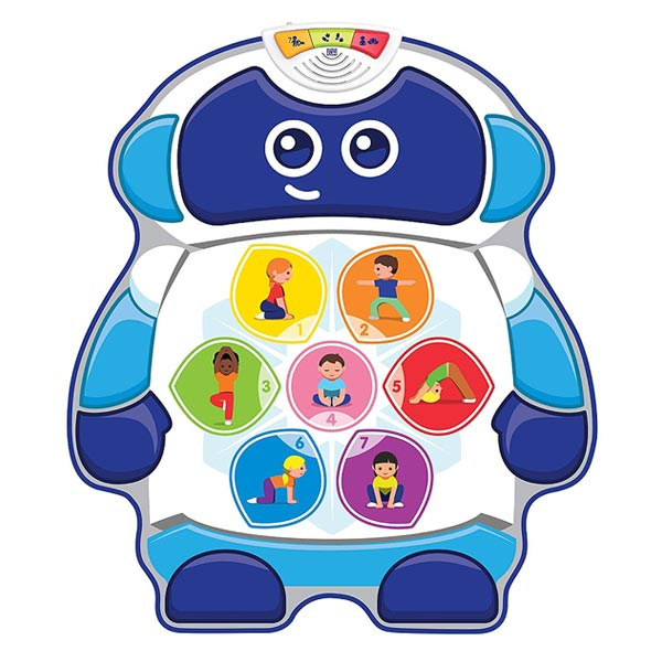 Mon tapis de yoga Bitsy Bot