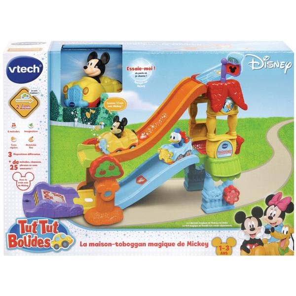 La maison toboggan magique de Mickey Tut Tut Bolides - Disney