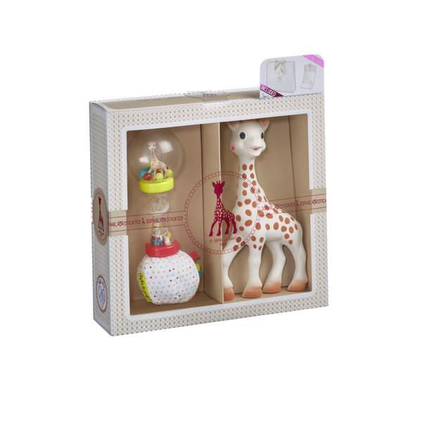 Coffret de naissance classique Sophie la Girafe