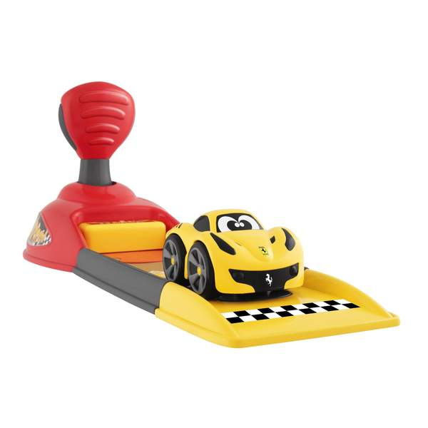 Base de lancement mini véhicule Ferrari