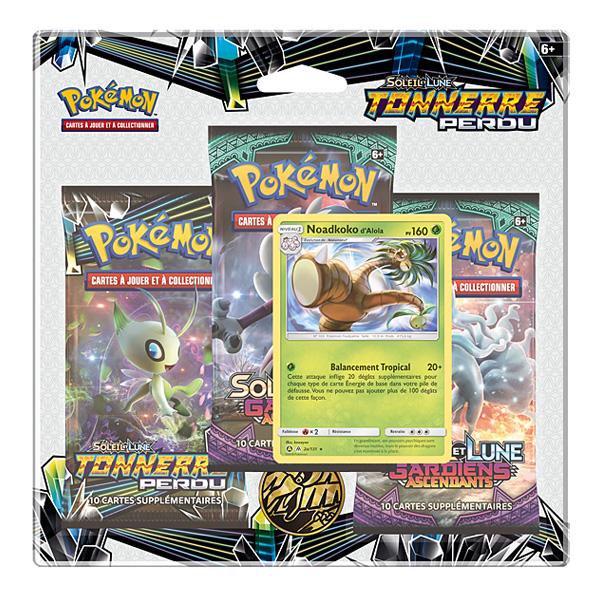 Pokémon Soleil et Lune 8-Pack 3 boosters et 3 cartes