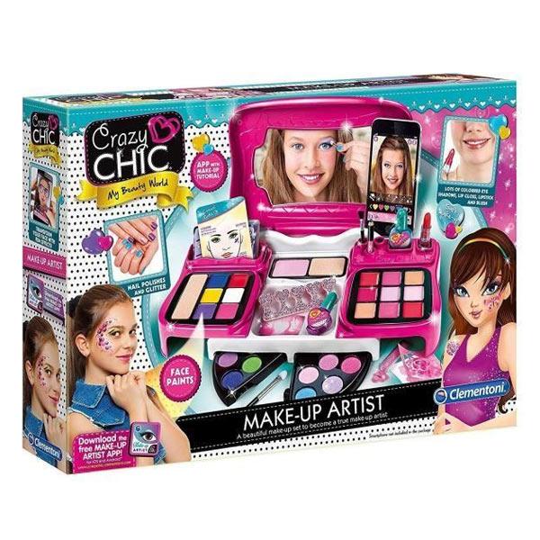 Mallette de maquillage artiste avec application