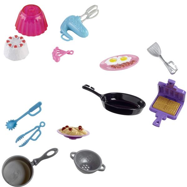 Barbie-Accessoires de cuisine
