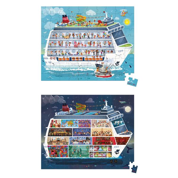 2 puzzles Croisière