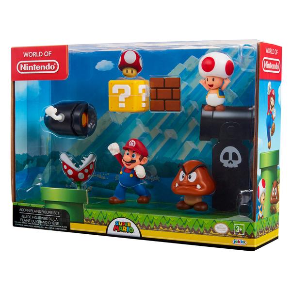 Mario-Coffret 5 figurines Nintendo