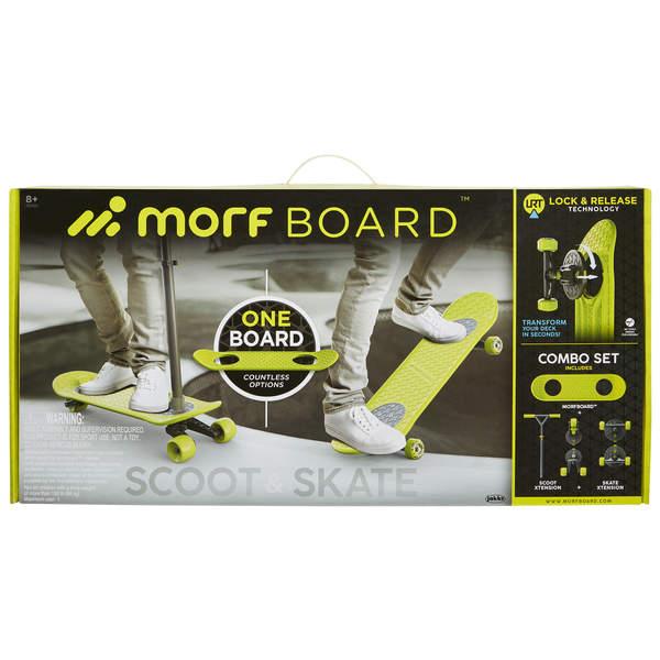 Morf Board-Skate transformable