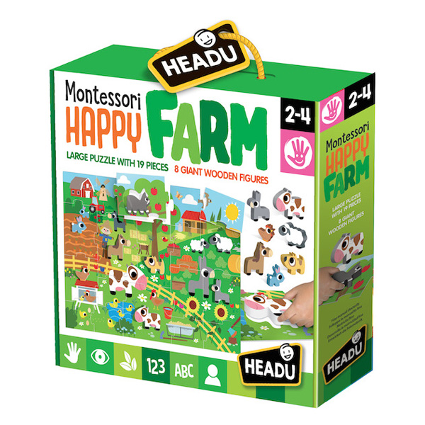 Puzzle Montessori Happy Farm
