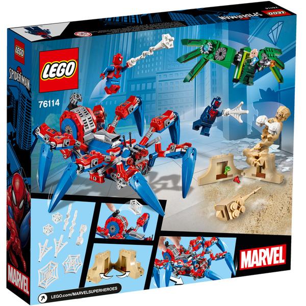 Véhicule Spiderman Araignée Lego® De Marvel 76114 Le qMVUzpS