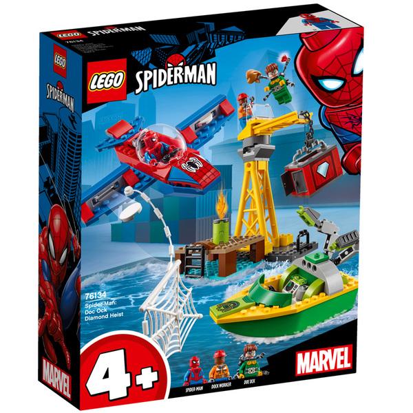 Du Lego® Docteur Vol Le Spiderman Diamant Octopus Et 76134 Marvel 8Xn0wOPk