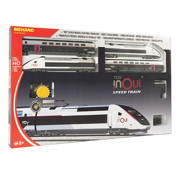 Inoui Et Coffret Avec Régulateur Transformateur Train Tgv BQxoreCdW