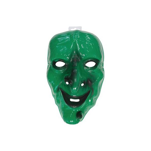 Masque Halloween Sorcière en PVC