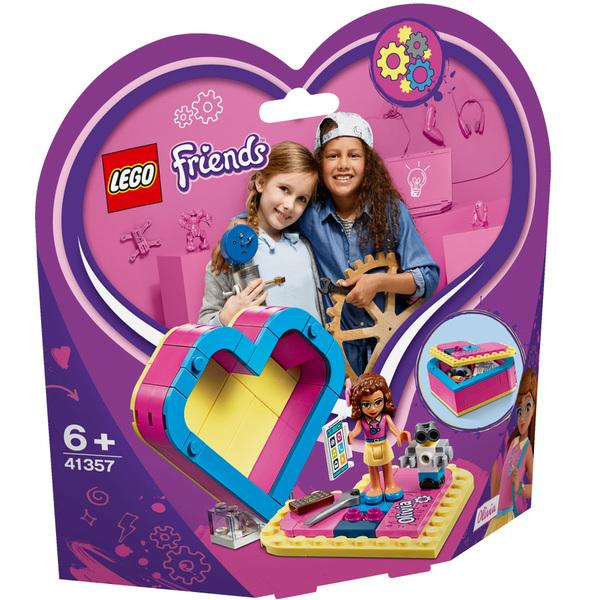 41357 - LEGO® Friends La boîte cœur d'Olivia