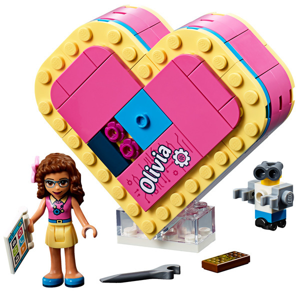 41357 - LEGO® Friends La boîte cœur d