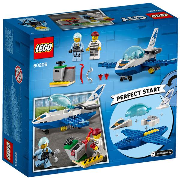 60206 - LEGO® City Le jet de patrouille de la police