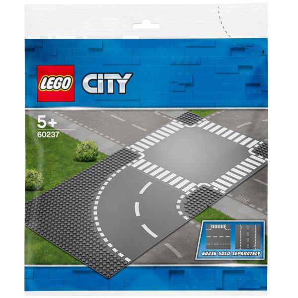 60237 - LEGO® City Plaques virage et carrefour
