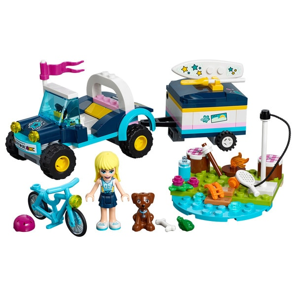 41364-LEGO® Friends Le buggy et la remorque de Stéphanie