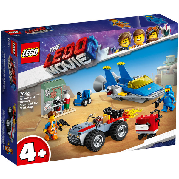 Benny L'atelier 70821 2 D'emmet Movie Réparer Lego® Construire Et BhrtxQdsC
