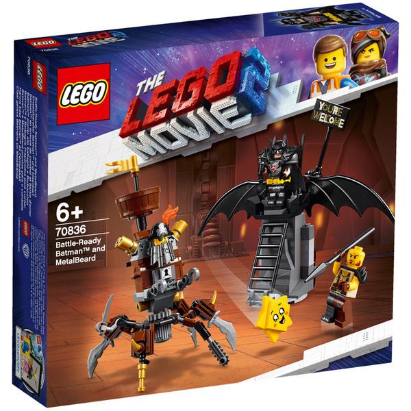 70836 - LEGO® MOVIE 2 Batman en armure de combat et Barbe d'Acier
