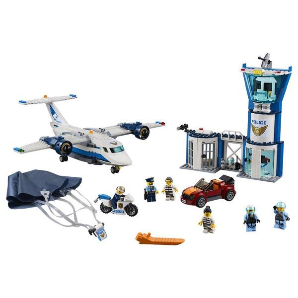 60210 - LEGO® City La base aérienne de la police