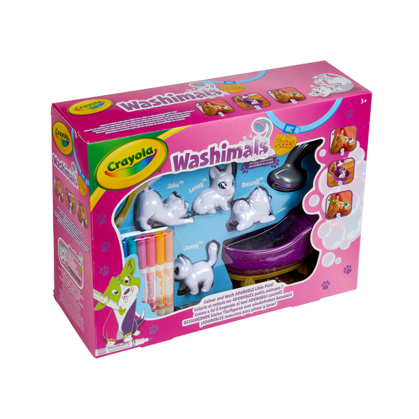 Coffret Color'n'Wash Mes Animaux à Colorier à l'infini