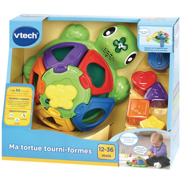 Boîte à formes - Ma tortue tourni-formes
