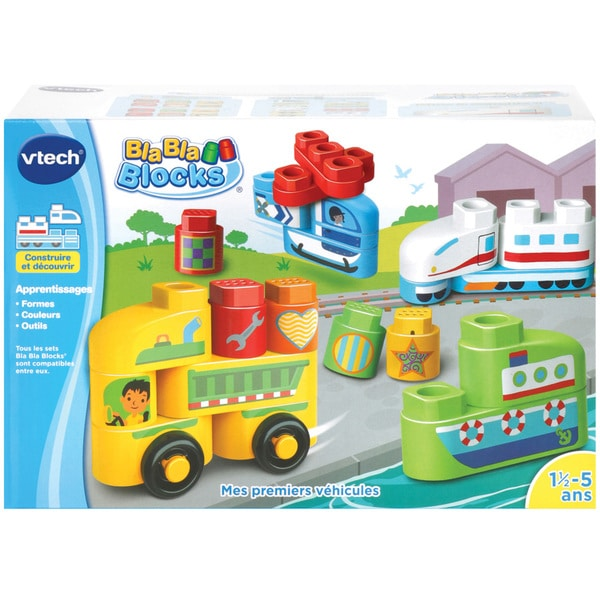 Bla Bla Blocks - Mes premiers véhicules