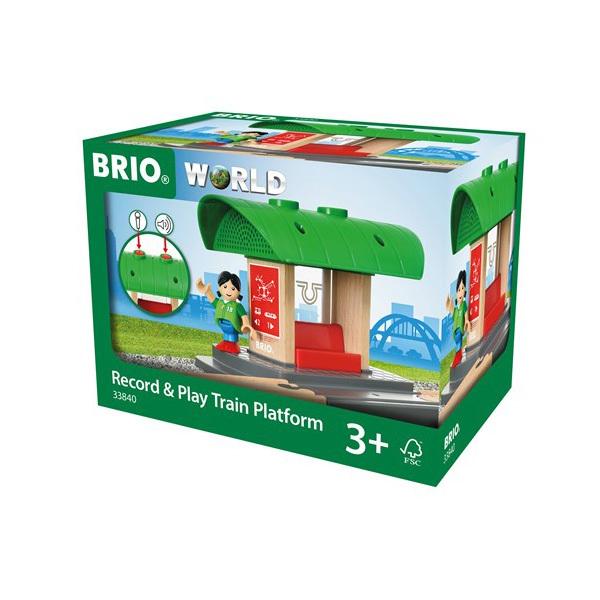 Brio World 33840-Gare à enregistreur vocal