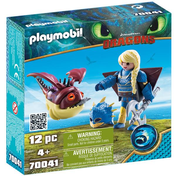 70041-Playmobil Dragons 3-Astrid avec Globegobeur