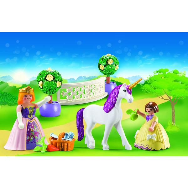 70107 - Playmobil Princess - Valisette Princesses avec licorne