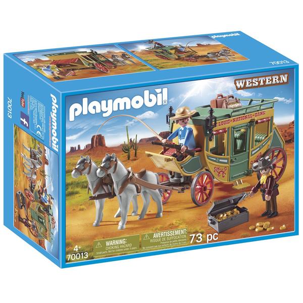 70013-Diligence du Far-West Playmobil Western