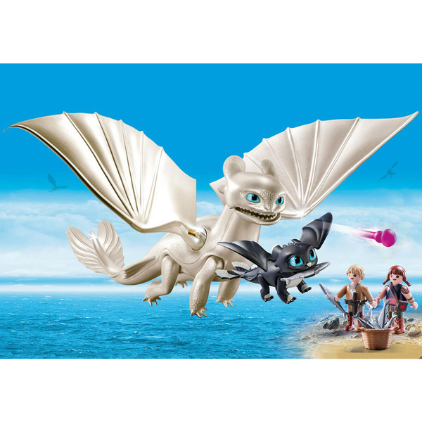 70038 Playmobil Dragons 3 Furie éclair Enfants Et Dragon