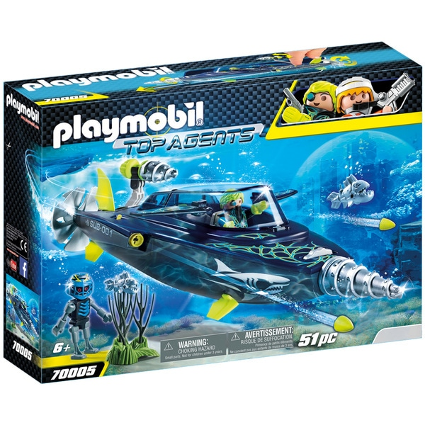 Sous Team S 70005 Playmobil a Agents Top Marin k h r hxrsQdtCBo