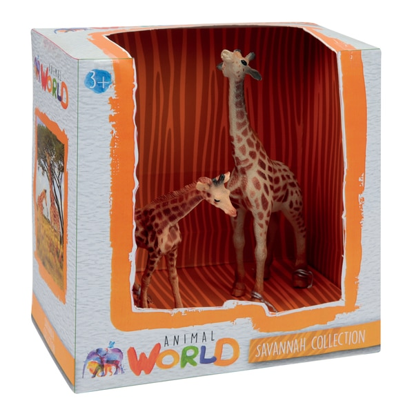 Coffret figurines girafes