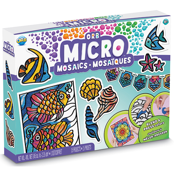 Coffret ORB micro mosaïques océan
