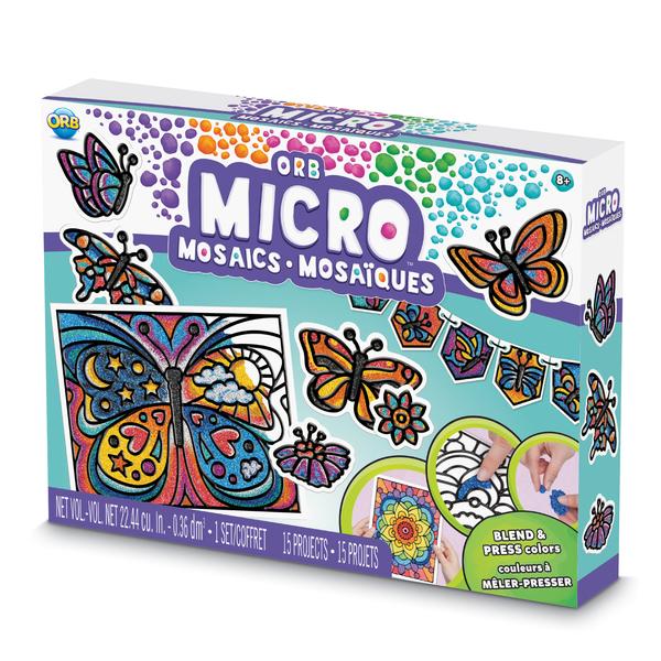 Coffret ORB micro mosaïques papillon